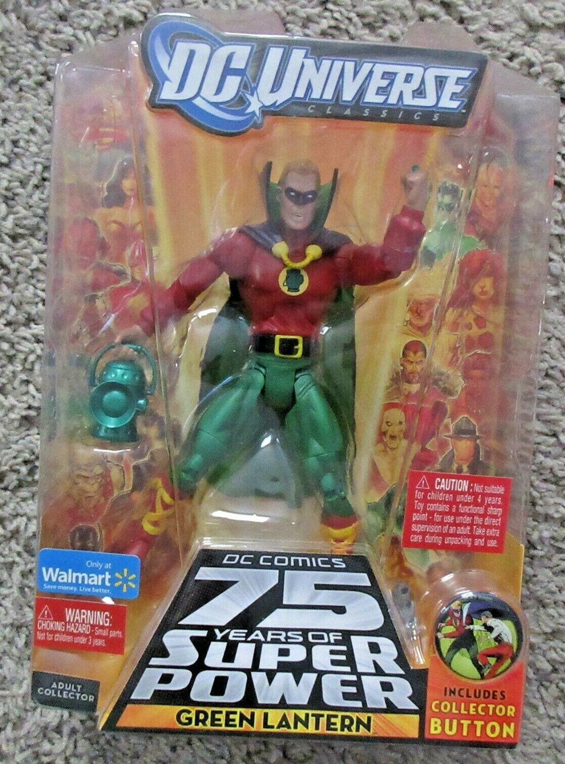 DC UNIVERSE CLASSICS GREEN LANTERN JUSTICE LEAGUE WALMART 6  INCH SUPER POWERS
