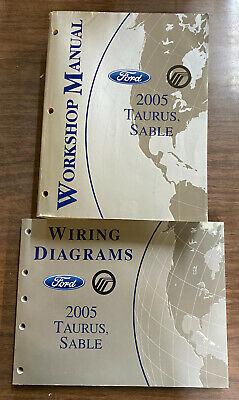 2005 FORD Taurus & Sable Workshop Service Manual Wiring ...