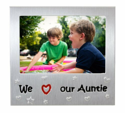 Nous aimons notre tante Cadre Photo Anniversaire Noël Idée Cadeau Pour Tante