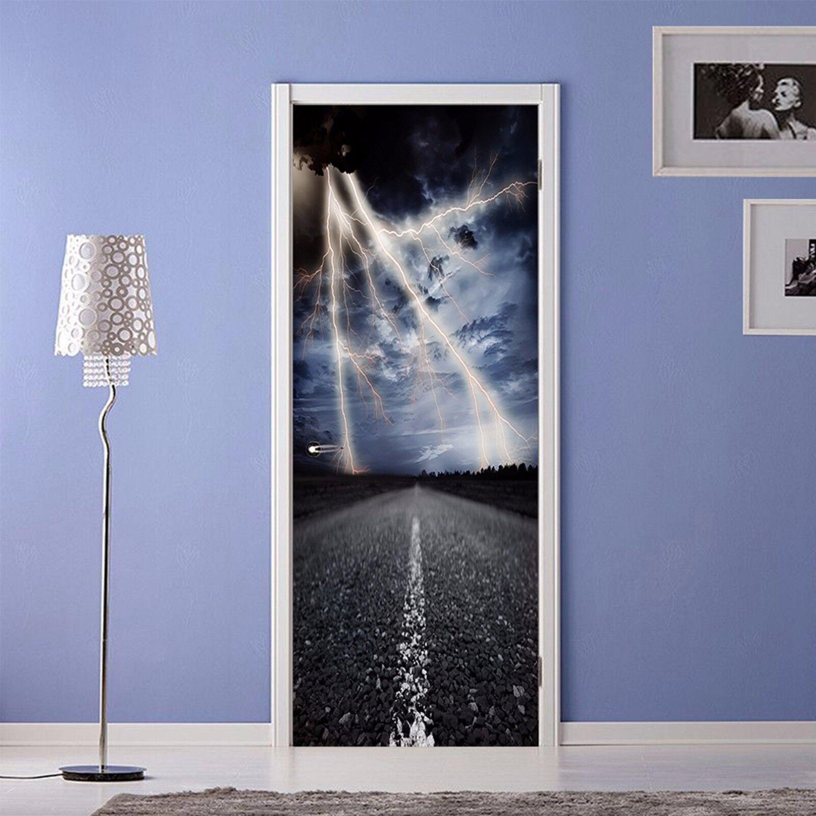 3D Blitz 742 Tür Wandmalerei Wandaufkleber Aufkleber AJ WALLPAPER DE Kyra   Verschiedene Stile und Stile    Zu einem erschwinglichen Preis    Neuankömmling