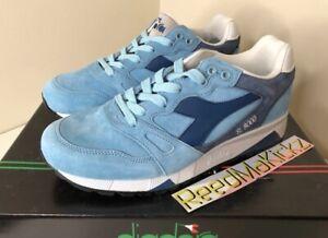 Blue Diadora S8000 NYL ITA Sneakers Casual Mens