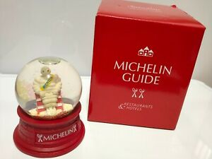 Michelin Snow Globe 2014 Souvenir From Japan Not For Sale Novelty Michelin Guide