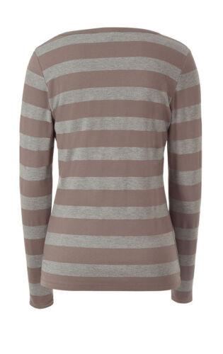NEU!! Ringelshirt Shirt APART KP 54,90 € SALE /%/%/% Grau melange