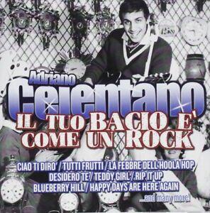 Adriano-Celentano-IL-Tuo-Bacio-e-Come-Un-Rock-CD-Nuovo-Sigillato-IL-Meglio-Di
