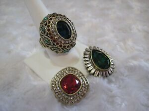 HEIDI-DAUS-034-Enchante-034-Red-Magnetic-Pendant-Size-9-Ring-Set-HSN-159-95