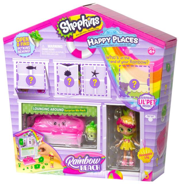 Marvelous Shopkins Happy Places Rainbow Beach Furniture Set Lounging Around Frankydiablos Diy Chair Ideas Frankydiabloscom