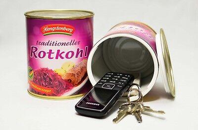 Versteckdose HENGSTENBERG ROTKOHL Dosensafe Geheimversteck für den Schrank Safe