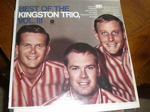Kingston-Trio-LP-Best-Of-The-VOLUME-3-SEALED