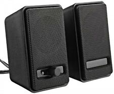 Powered AmazonBasics Computer Speakers USB A100 AC A150 2 Day
