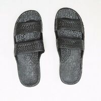 Pali Hawaii Jesus Sandals Jandals Hawaiian Black Men And Women Classics
