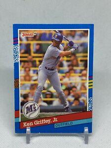 1991 Donruss #77 Ken Griffey Jr. Seattle Mariners HOF
