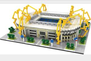 Bausteine Signal Iduna Park Gebäude Kinder Spielzeug Modell Mit BOX Geschenk