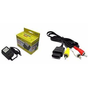 AC-Adapter-For-Super-Nintendo-Super-Nintendo-AV-Cable-Bundle-SNES-Brand-New-8Z