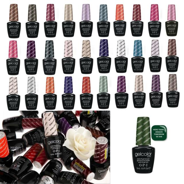 TOP OPI Gel Color Collection Top Coat  / Base Coat NEW Gelcolor Gel Polish 15ml