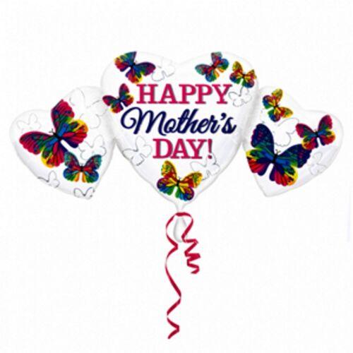 Feliz Día de las madres-Corazón Mariposa Globo de la Hoja-Mamá Especial Idea de Regalo #30250