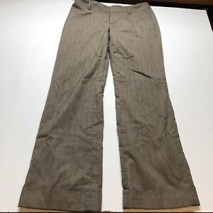 Banana-Republic-Martin-Fit-Womens-Size-8-Brown-Dress-Pants-A1611