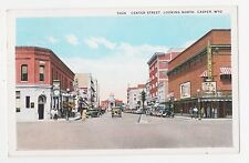 Casper,Wyoming,Centre Street Looking North,Natrona County,Used,1952