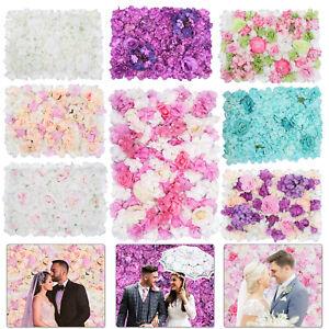 Hortensia Artificiel Faux Fleur Panneau Mural Bouquet Pour Mariage Fête Décor 2019 Nouveau Style De Mode En Ligne