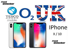 san francisco 87d56 c91bf Details about O2 Tesco UK official factory unlock code for apple iphone X  iphone 10