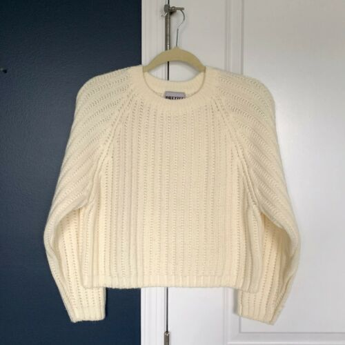 VTG 90s Small cropped relaxed oversized crewneck s