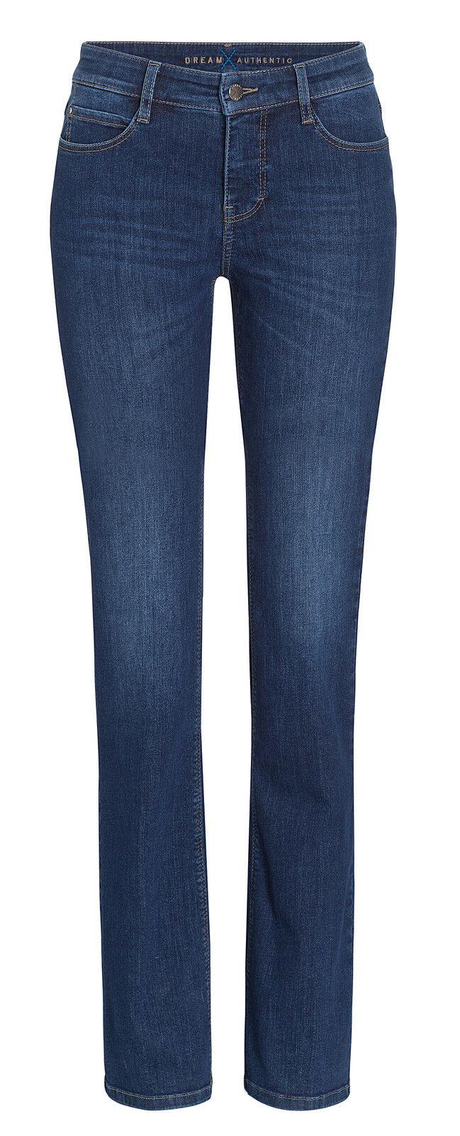 MAC Damen Jeans Dream Flarot 5412 dark Blau fresh use D873 Ver. Größen Längen