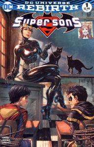 SUPER-SONS-1-Tyler-Kirkham-Variant-DC-Rebirth-NM-1st-print-Bagged-amp-Boarded