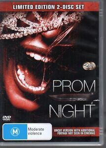 PROM-NIGHT-DVD-R4-2008-LIMITED-EDITION-2-disc-set-Brittany-Snow-LIKE-NEW