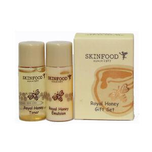 SKINFOOD-Royal-Honey-Gift-Set-Toner-amp-Emulsion-2set-4ea-Korea-Cosmetic
