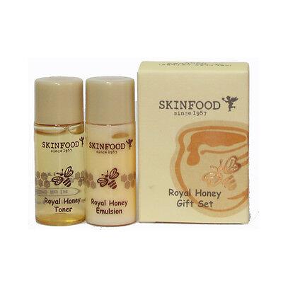 [SKINFOOD] Royal Honey Gift Set Toner & Emulsion 2set (4ea) - Korea Cosmetic