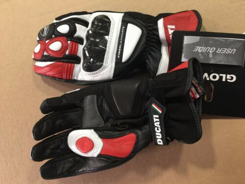 Leather gloves Ducati sport C2 Guanti in pelle DUCATI C2 Rossi
