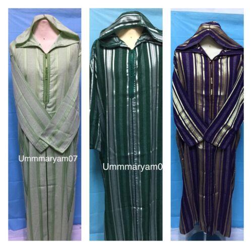 Desert Robe Marocaine à capuche Thobe Robe Fancy Dress Arabe Homme DishDash Jubba