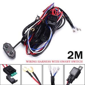 40A 12V Kabel Satz Kabelbaum ON/OFF Schalter Kit für LED ...