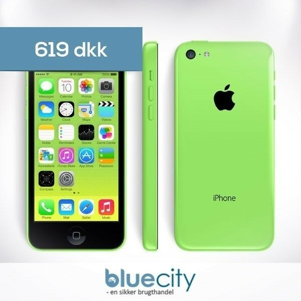 iPhone 5C, GB 8, grøn