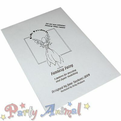 Holly Products-Fantasy Fairy -DRESS PATTERN- Sugarcraft Cake Decorating Template