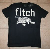 Abercrombie Boys Large Glow In The Dark Blue Tiger T-shirt