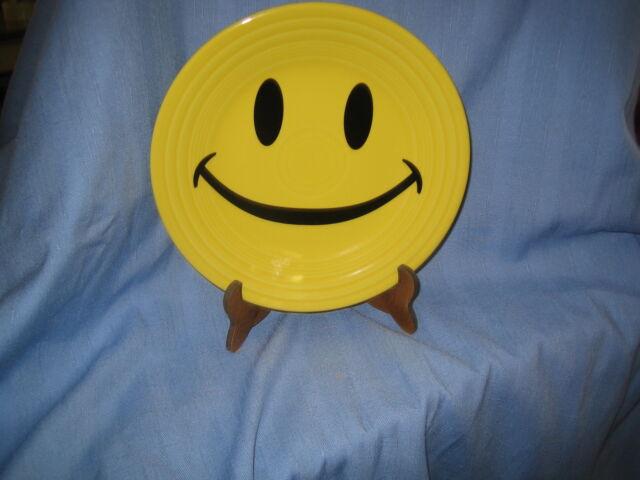 Fiestaware  Smiley Luncheon 9