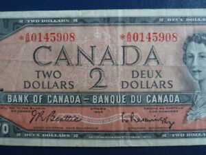 1954-Canada-2-Dollar-Replacement-Bank-Note-AB0145908-20-616