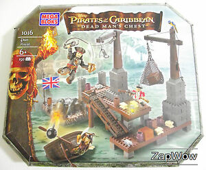PORT-ROYAL-2006-DEAD-MAN-039-S-CHEST-Mega-Bloks-Play-Set-1016-Pirates-Caribbean-Mint