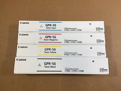 FedEx 2Day Air!! Genuine Canon GPR-51 CMYK Toner for iR Advanced C250 C350