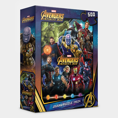 """Jigsaw Puzzles 500 Pieces /""""Avengers M521 Infinity War/"""" Marvel"""