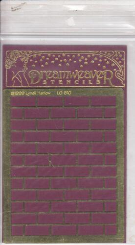 brick wall LG 610 Dreamweaver Stencils Free Shipping