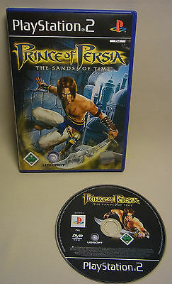 Playstation 2 PS2 Spiel Game PRINCE OF PERSIA SANDS OF TIME  1 Spieler FSK 12