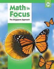 Math In Focus Singapore Approach Grade 3A Kit 1st Semester NEW!