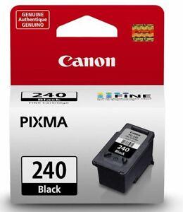 Genuine OEM PG240 PG 240 Black Ink cartridge for Cannon Pixma Printer Wireless