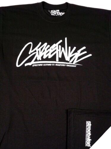STREETWISE SKEAM TAGS T-shirt Urban Streetwear Tee Men L-4XL Black NWT