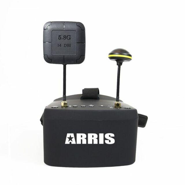 ARRIS Ev800 5 Inches 800x480 FPV Goggles Video Glasses 5.8g 40ch Raceband  Aut... for sale online | eBay