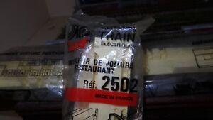 Mon ChéRi Jouef 2502 Ou 9502 Aménagement Interieur Voiture Restaurant Neuf + Avis Ho