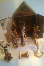 African Nativity set