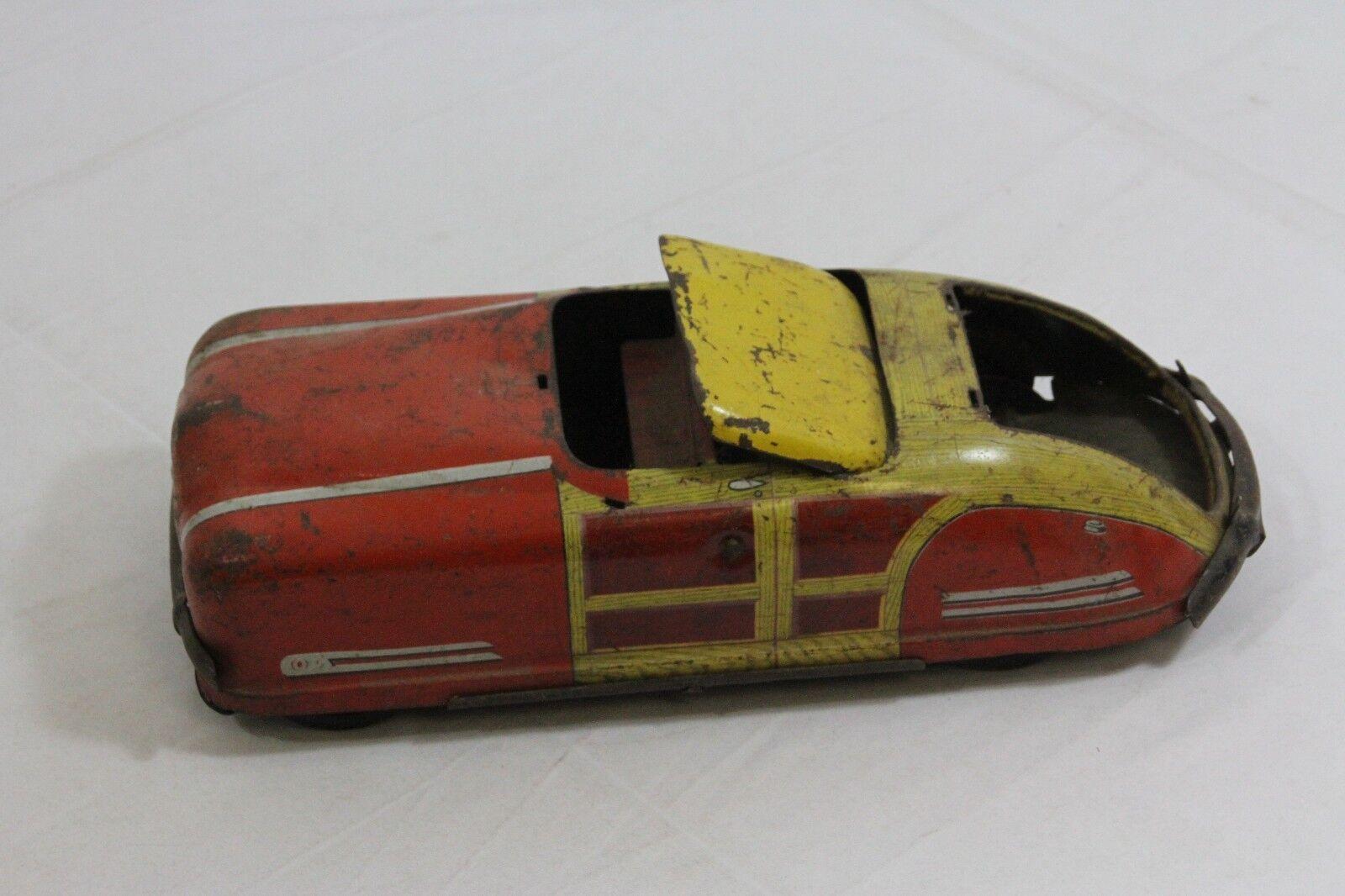 Gelb - rot wyandotte fressie druckguss - spielzeug - auto
