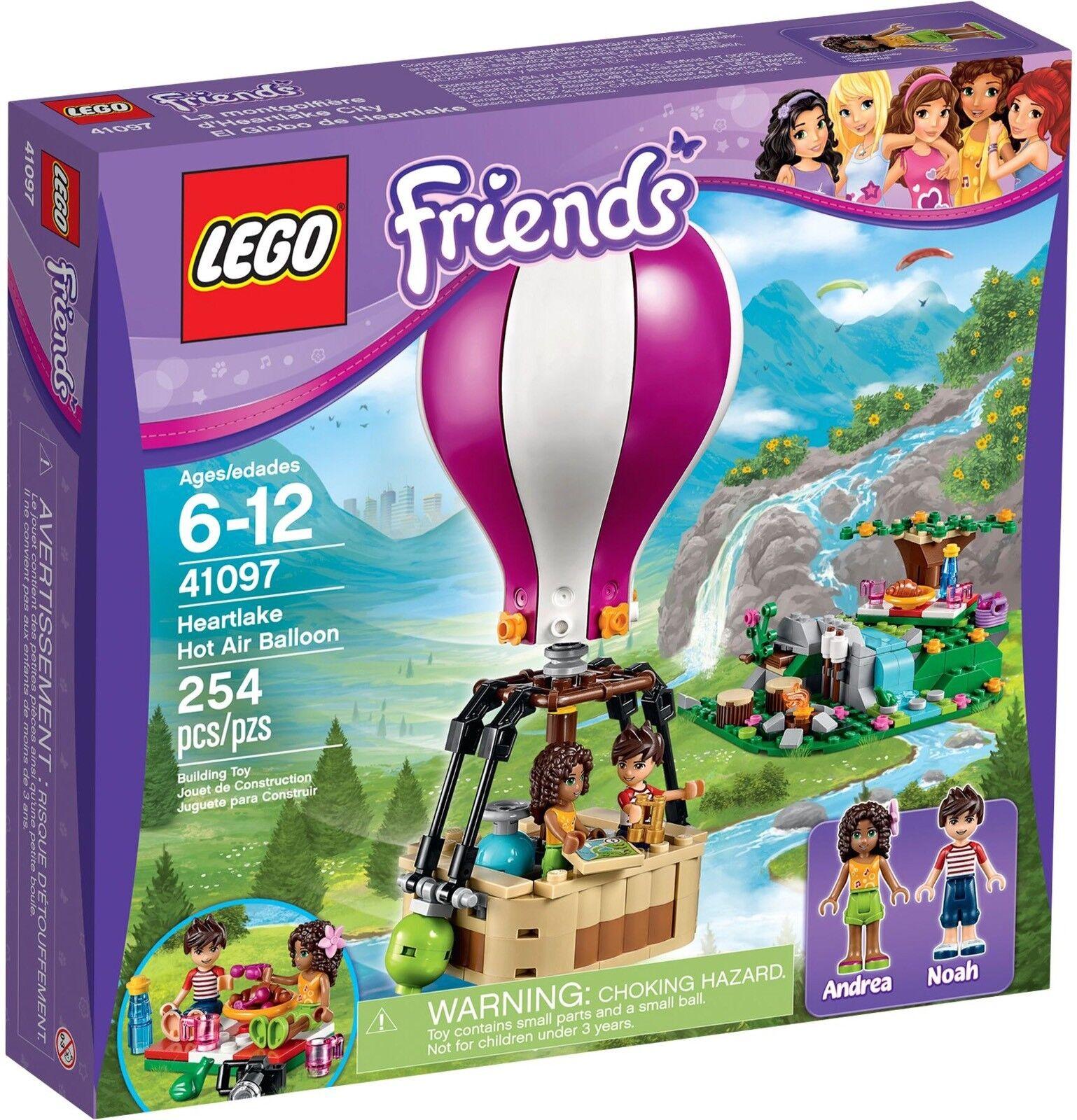 LEGO Friends  41097 - Heartlake Hot Air Balloon - Collector 2015 - NEW   NEUF